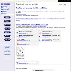 icttoolkit - Teaching & Learning Activities