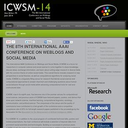 ICWSM-11 - 5th International AAAI Conference on Weblogs and Social Media
