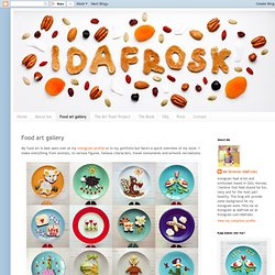 idafrosk: the food art blog: Food art gallery