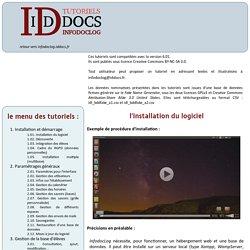 iddocs - infodoclog : tutoriels