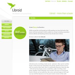 The Idea - Libroid - more than a book