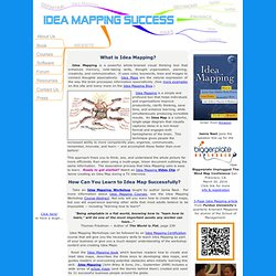 Idea Mapping Success - Learn how to Idea Map