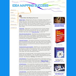 Whole-Brain Idea Mapping Resources