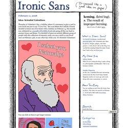 Idea: Scientist Valentines