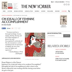 On Ideals of Feminine Accomplishment
