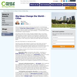 Big Ideas Change the World - Cities