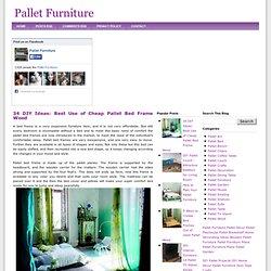 Easy Pallet Bed Frame