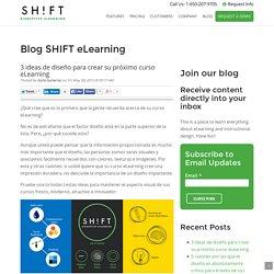 3 ideas de diseño para crear su próximo curso eLearning