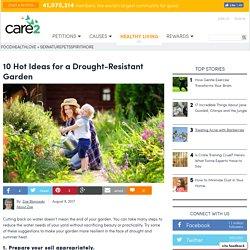 10 Hot Ideas For A Drought-Resistant Garden