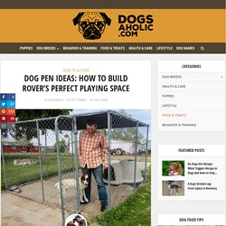 Dog Pen Ideas: Giving Your Best Friend, His Very Own Play Space