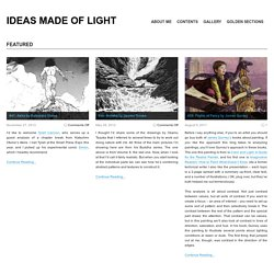 Ideas Made of Light