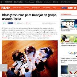 Ideas y recursos para trabajar en grupo con Trello