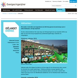 Idébanken - Sveriges ingenjörer