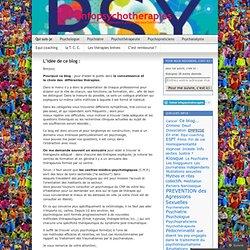 info psychotherapies