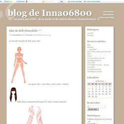 idée de doll ohmydollz ^^ - blog de Inna06800