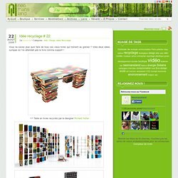Idée recyclage # 22