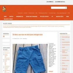 50 Ideen, was man mit alten Jeans anfangen kann | Bastelfrau