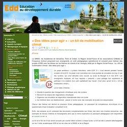 EDD Ac-versailles - « Des idées pour agir » : un kit de mobilisation climat