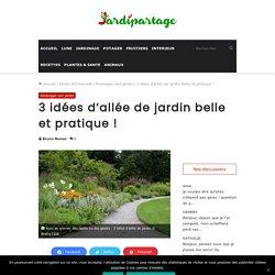 3 idées d'allée de jardin belle et pratique !