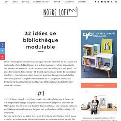 32 idées de bibliothèque modulable