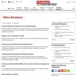 Idées de business