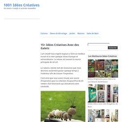 15+ Idées Créatives Avec des Galets