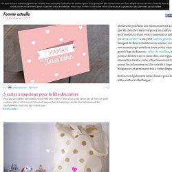 Des idées créatives pour la fête des mères