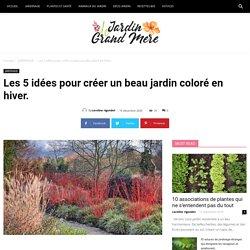 Les 5 idées pour créer un beau jardin coloré en hiver