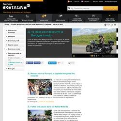 10 idées pour découvrir la Bretagne à moto