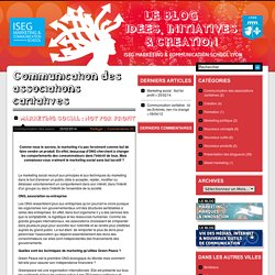 ISEG MCS Lyon - Le blog idées, initiatives & création