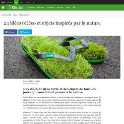24 idées (d)éco et objets inspirés par la nature