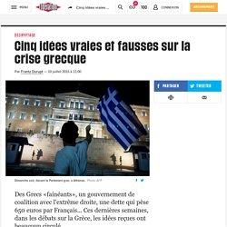 Cinq idées vraies et fausses sur la crise grecque