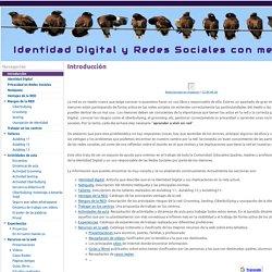Identidad Digital y Redes Sociales con menores