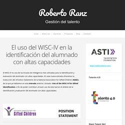 El uso del WISC-IV en la identificación del alumnado con altas capacidades