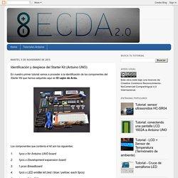 El cajón de Arduino: Identificación y despiece del Starter Kit (Arduino UNO)