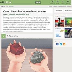 Cómo identificar minerales comunes: 18 pasos