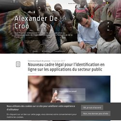 Nouveau cadre légal pour l'identification en ligne sur les applications du secteur public