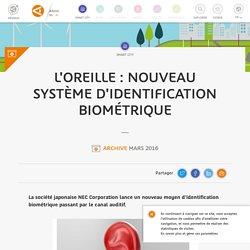 L'oreille : nouveau système d'identification biométrique