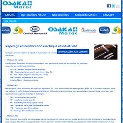 Repérage et identification électrique et industrielle