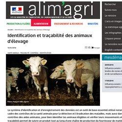 Identification et traçabilité des animaux d'élevage