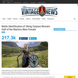 Better Identification of Viking Corpses Reveals: Half of the Warriors Were Female