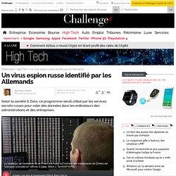 Un virus espion russe identifié par les Allemands - 4 mars 2014
