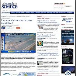 La cause du tsunami de 2011 identifiée ?