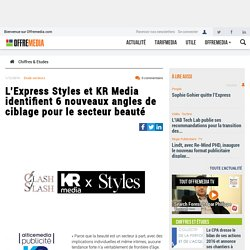 L'Express Styles et KR Media identifient 6 nouveaux angles de ciblage pour le secteur beauté