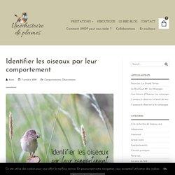 Identifier les oiseaux par leur comportement - Une histoire de plumes