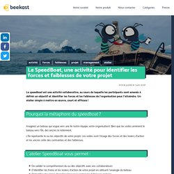 Le SpeedBoat, une activité pour identifier les forces et faiblesses de votre projet · Le blog beekast