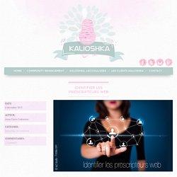 Identifier les prescripteurs web