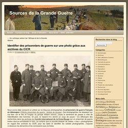 Identifier des prisonniers de guerre sur une photo grâce aux archives du CICR