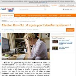 Attention Burn-Out : 6 signes pour l'identifier rapidement !