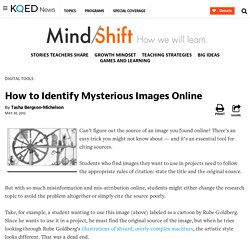 How to Identify Mysterious Images Online